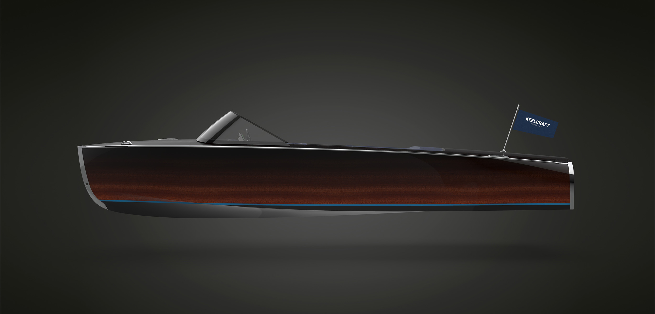 KeelCraft electric runabout