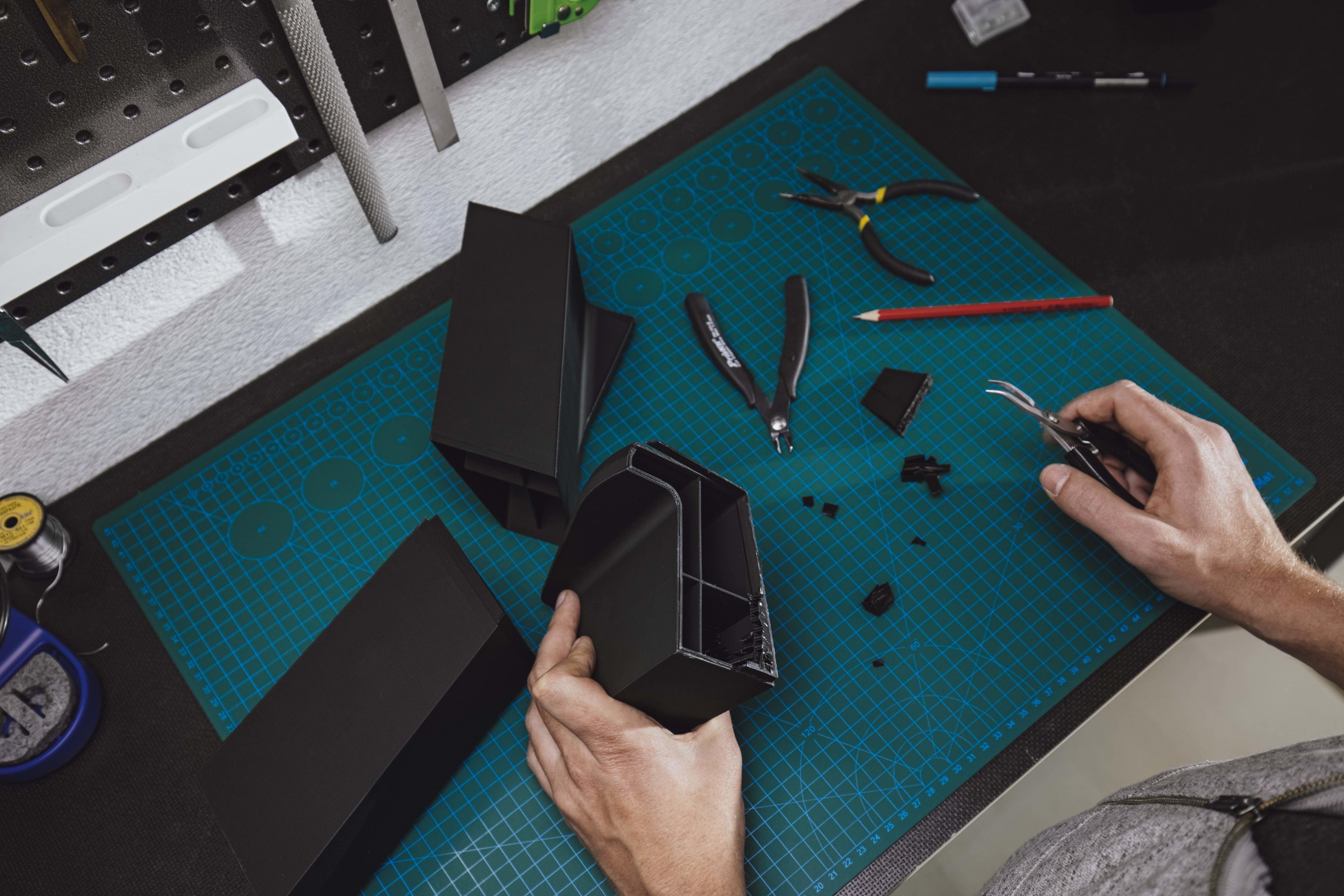 Post-processing of 3D print