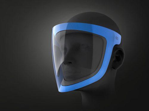 PROTOTYPUM FACEMASK: Celoobličejová maska pro zdravotníky